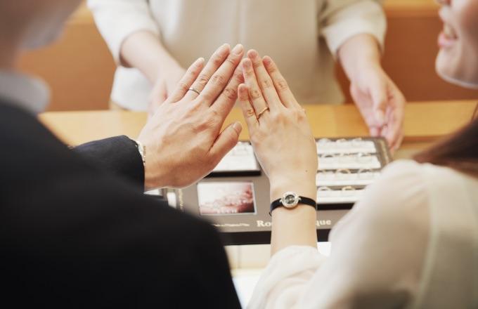イメージ:結婚指輪の選び方