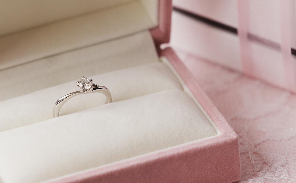 イメージ:本物の指輪でプロポーズしたい